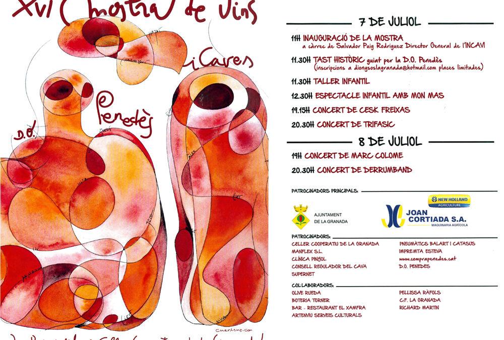 XVI Muestra de Vinos de La Granada del Penedès