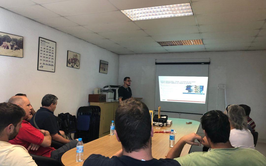 Una nova jornada de formació de conductors de maquinària de veremar a JOAN CORTIADA