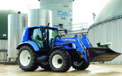 New Holland – Joan Cortiada inicia la comercialización del tractor impulsado por metano