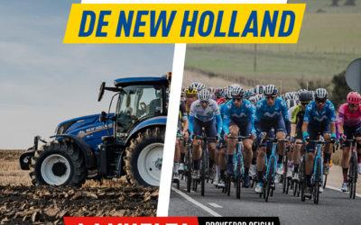 New Holland, proveedor oficial de la Vuelta 21′
